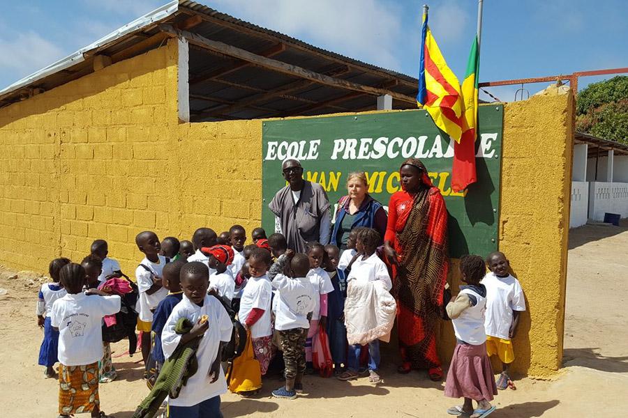 Inauguración SANTOSSOU, nueva clase infantil